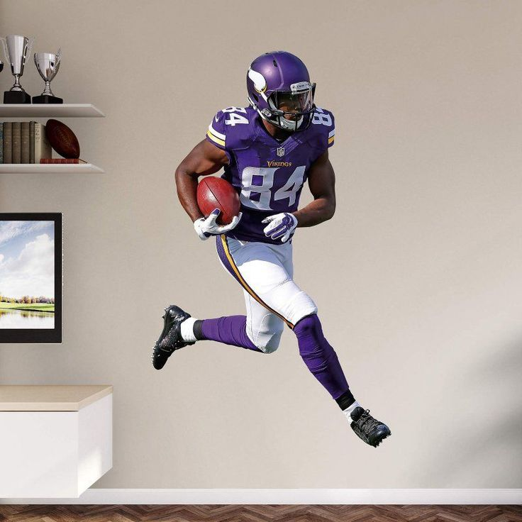 Attractive Fathead NFL Minnesota Vikings Cordarrelle Patterson Home Wall Decal    12 21379
