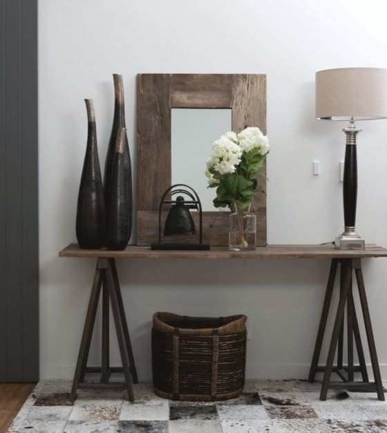Best Country Rustic Hallway Decorating Ideas Bench: 25+ Best Ideas About Hallway Tables On Pinterest