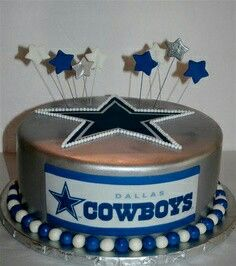 15 best Dallas Cowboys Cake images on Pinterest Cowboy cakes
