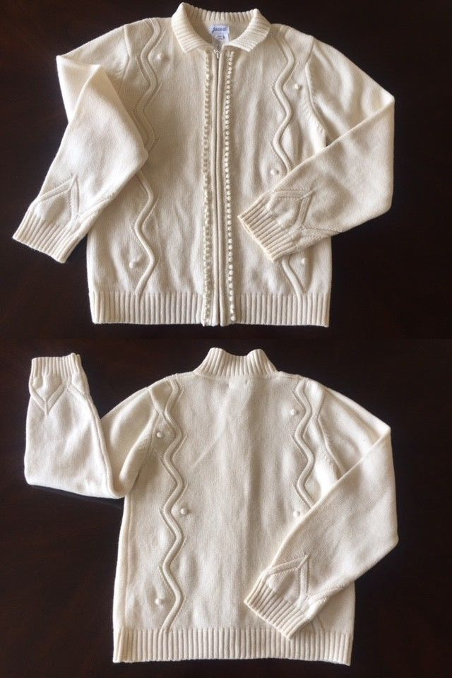 26c2ed79afbe Sweaters 51582  Jacadi Girl S Soft White Wool Cotton Sweater 10 ...