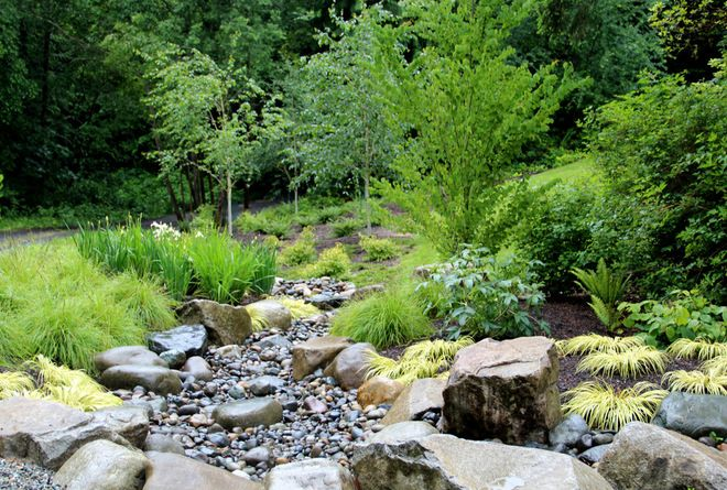 Dry creek beds 10 handpicked ideas to discover in design for Dry landscape design