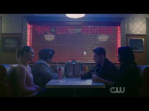 "Riverdale 1x04 ""The Last Picture Show"" Jughead talking about the drive in closing at Pop's Diner - YouTube"