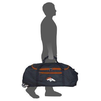 NFL Denver Broncos 36 Collapsible Duffle Bag