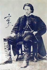 土方歳三(Toshizo Hijikata) He is one of my favorite historical figures. He was the Last Samurai in Japanese history.