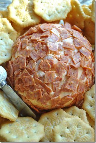 Pepperoni Cheese Ball.....