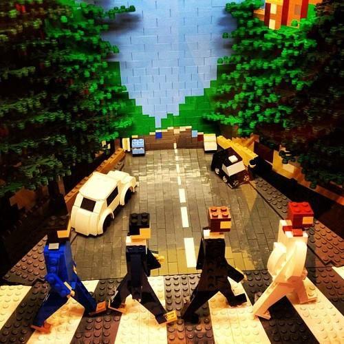 Lego Beatles ♬ Music Will Teach The Lesson ♫ Pinterest
