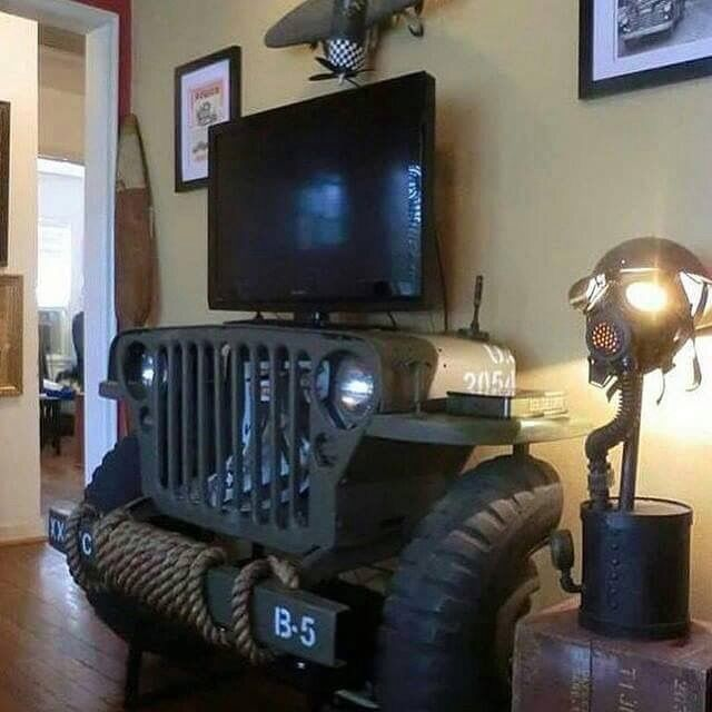 Military TV Stand