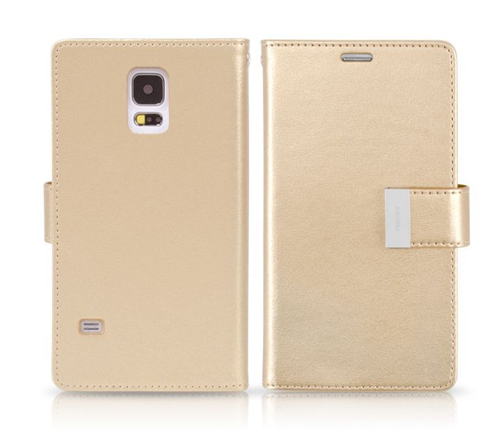 Goospery Rich Diary Double Wallet Case for LG F70