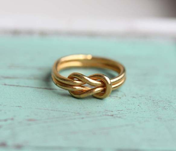 Sailor Knot Ring (but in silver)