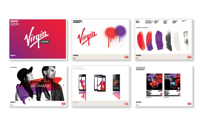 Virgin Mobile Australia Brand Guideline #VirginMobileAus