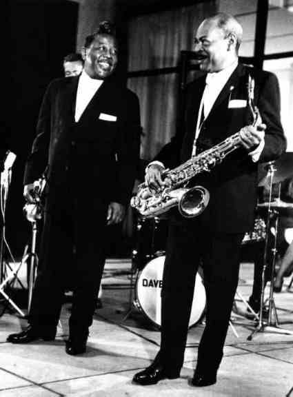 Roy Eldridge and Coleman Hawkins