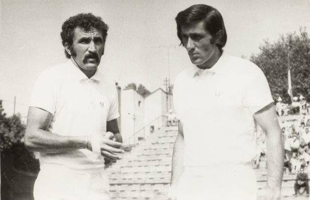 Ion Tiriac et Ilie Nastase