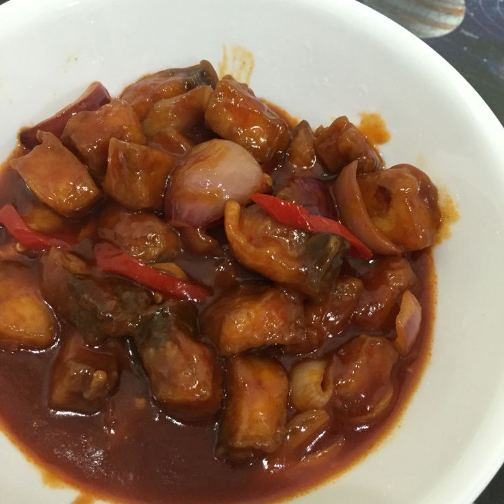 Mom's sweet and sour fish/chicken
