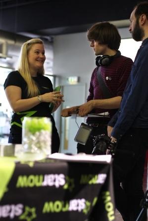 StarNow at the BFI Future Film Festival 2012 in London.