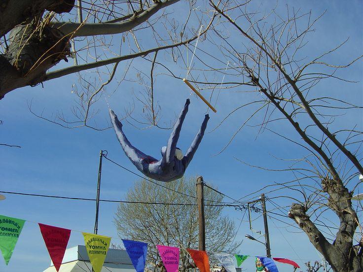 Carnaval decoration for the village