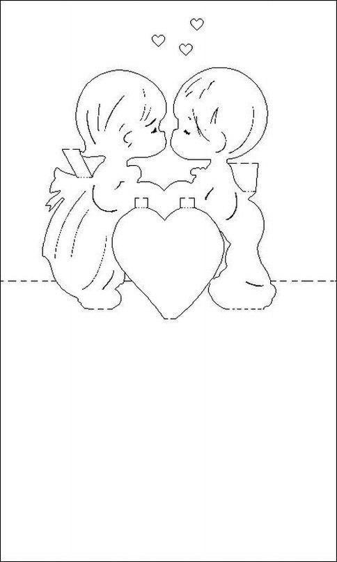 Картинки пожелания, открытка для девушки своими руками распечатать