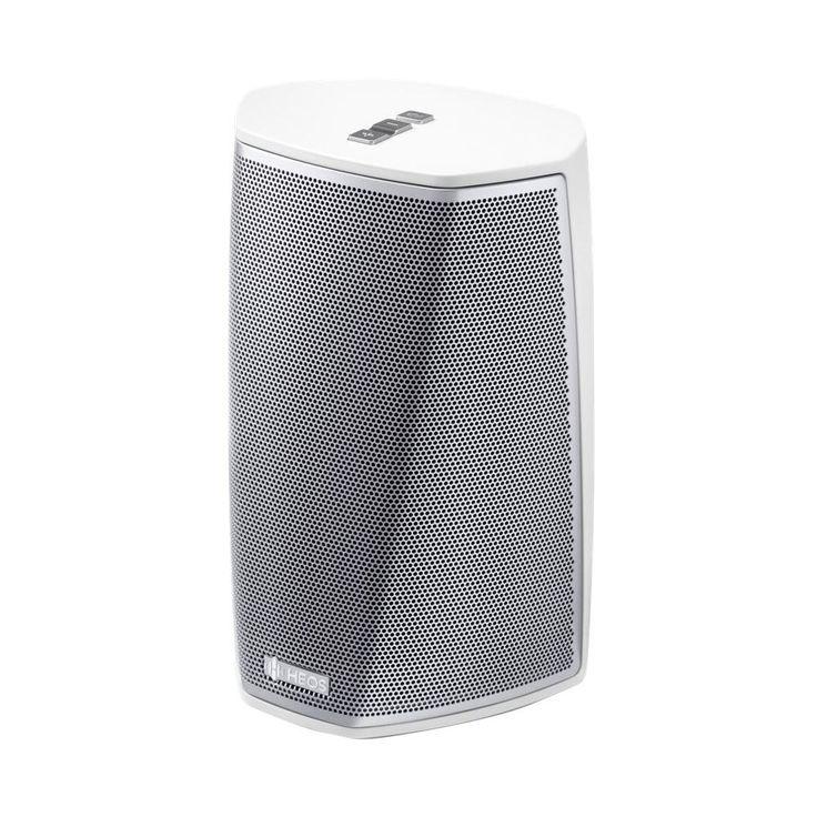 Denon - Heos Portable Bluetooth Speaker - White