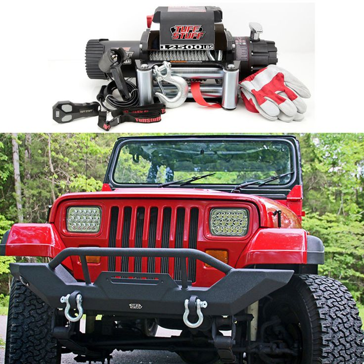 Tuff Stuff® Rock Crawler Front Bumper With Winch Mount For 1987-2006 Jeep Wrangler TJ/YJ - Our Tuff Stuff® Bumper is available in Textured Black for 87-06 Jeep Wrangler YJ, TJ & Unlimited.
