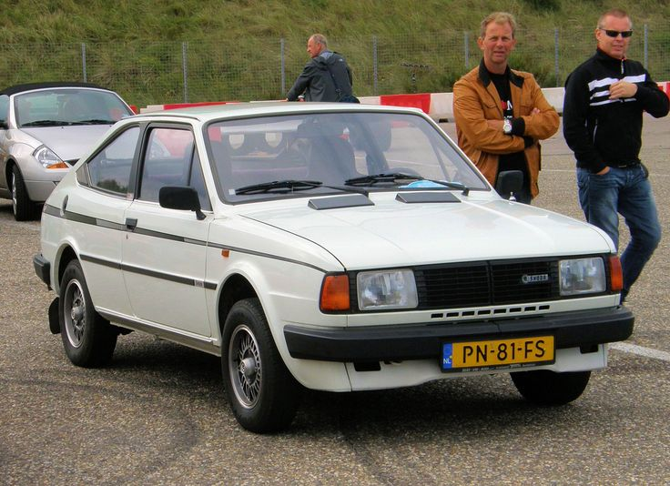 1986 Skoda Rapid Coupé 130 G