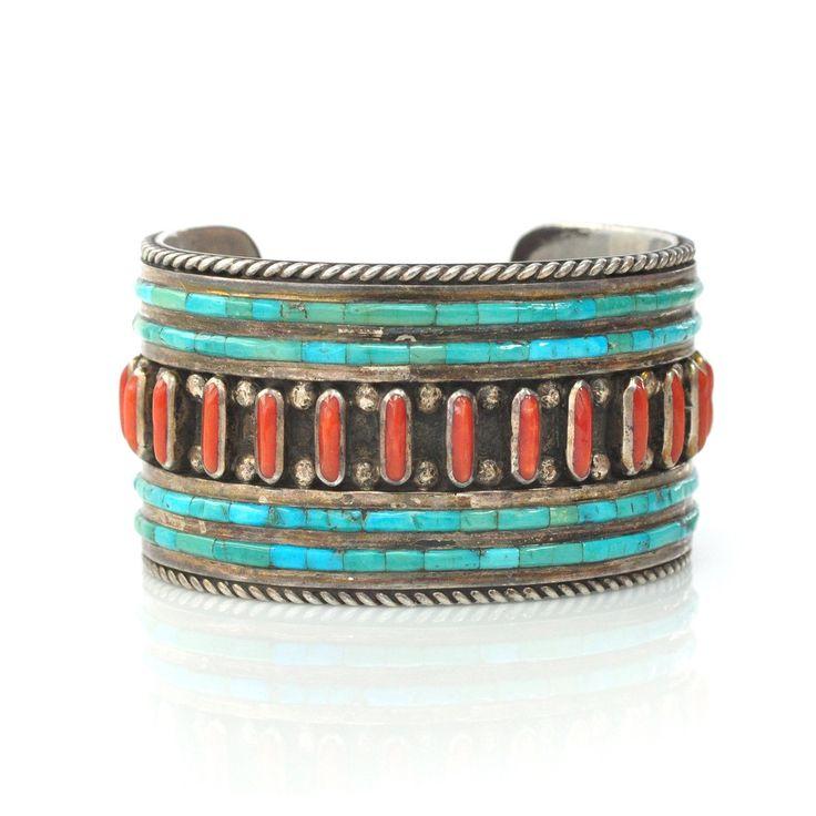 Inlay Native American Cuff