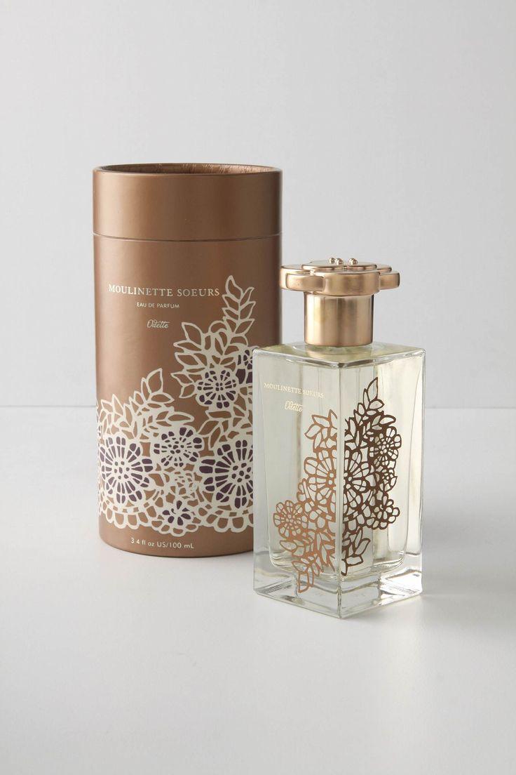 Moulinette Soeurs Eau De Parfum's lovely packaging design