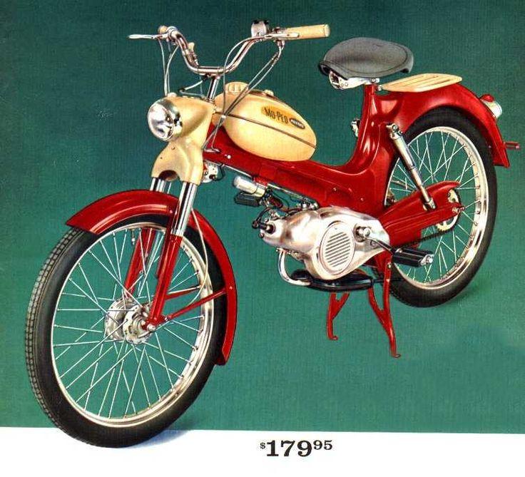 Rrrick 1960 Sears Allstate Mo Ped Vintage Pinterest