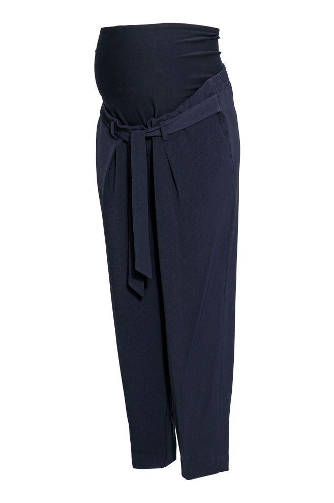 MAMA Pantalon - Bleu foncé - FEMME  729793be2ff