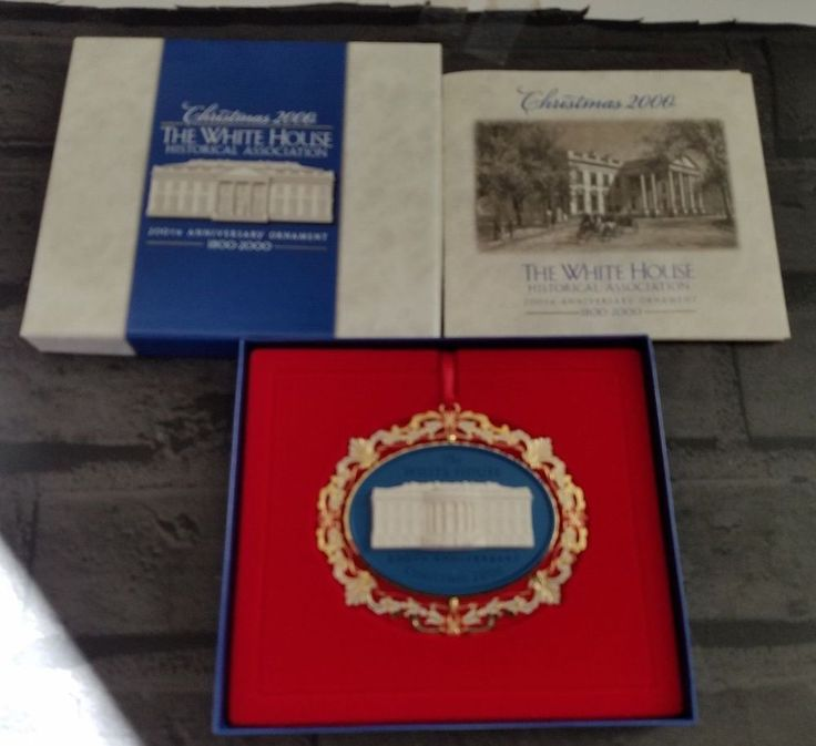 2000 White House Christmas Ornament, 200th Anniversary Historical Association #TheWhiteHouseHistoricalAssociation