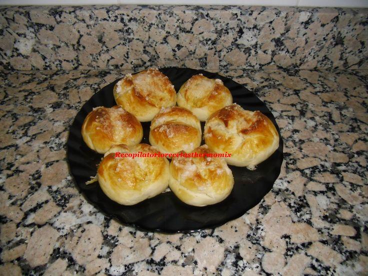 Recopilatorio de recetas : Bollos suizos sin huevo en thermomix