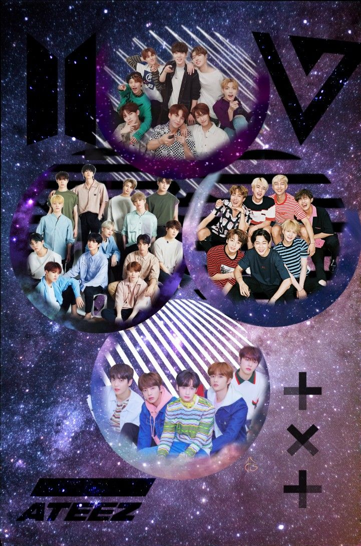 Bts Seventeen Ateez Txt Wallpaper Lockscreen Bts Seventeen