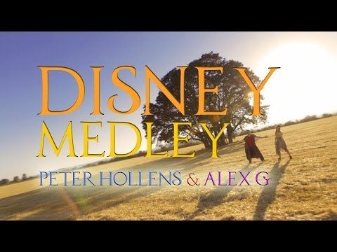 "Ready for a ""Feel Good"" video?   Then check out this Epic Disney Medley - Peter Hollens & AlexG Acappella"