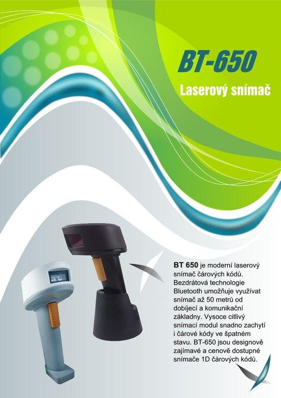 Laserový snímač BT 650 strana 1 Laser Scanner BT 650 page Nr. 1
