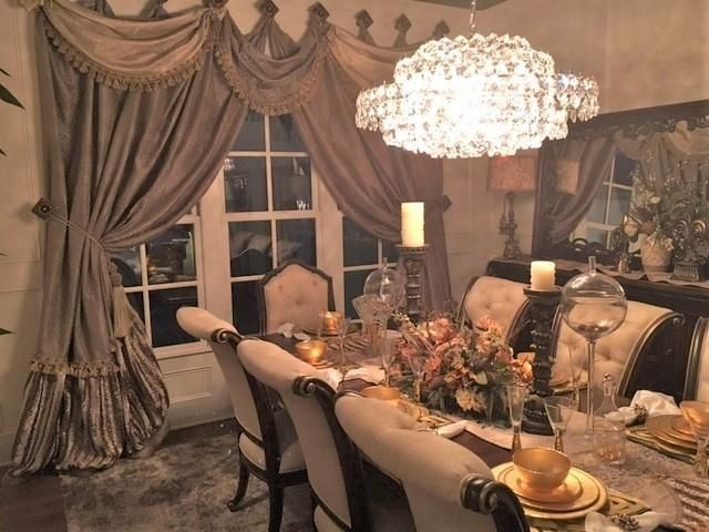 Luxury Window Treatments By Reilly Chance Collection Chanceliving Tuscan StyleWindow TreatmentsElegant CurtainsDining RoomsDrapery