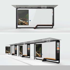 STREET FURNITURE FOR THE CITY OF SÃO PAULO – Bus Shelters and Information Displays | Industrial Designers Society of America - IDSA