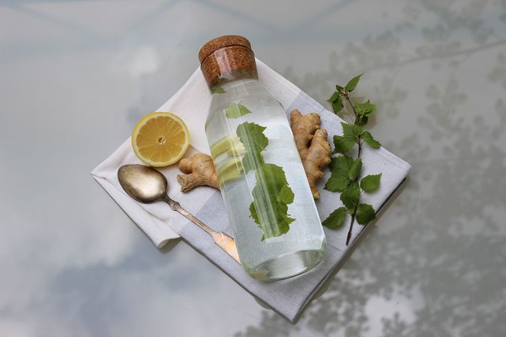 Ginger & Birch Infused Water