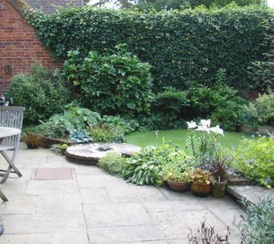 Gärten in England  White Windows Garden in Longparish