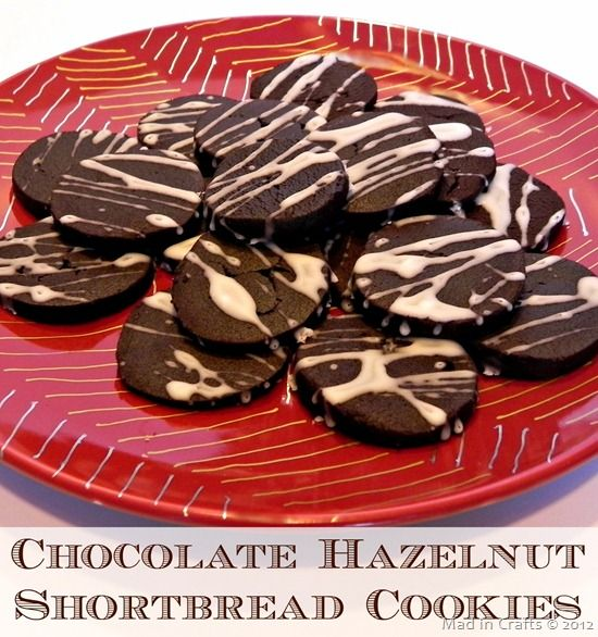... Hazelnut Shortbread Cookies | Chocolate Hazelnut, Shortbread Cookies
