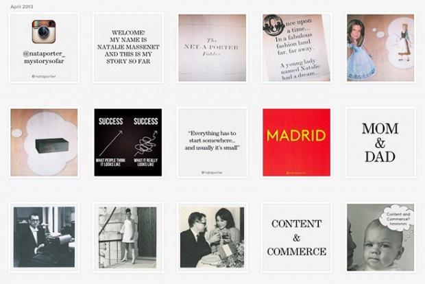 An Instagram Biography - Natalie Massenet,Vogue UK Festival