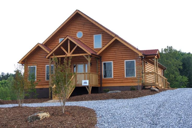 1000 images about banner elk log home gallery on pinterest for Banner elk home builders