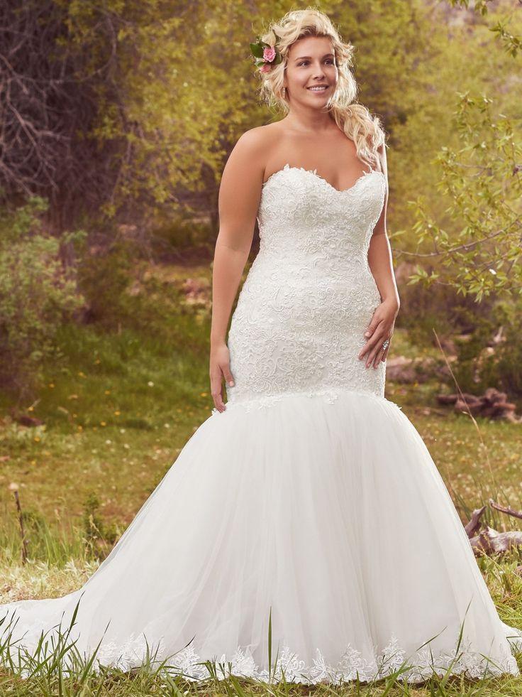 117 best Plus Size Wedding Dresses images on Pinterest