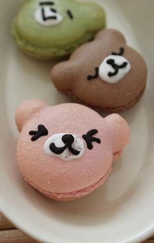 #bento #japanese #macaron #french #rilakkuma #bear