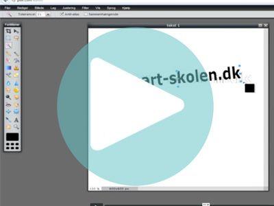 Lav fede tekster til dine billeder, skilte, vægge med mere. Du kan nemt lave det i det gratis online program www.pixlr.com