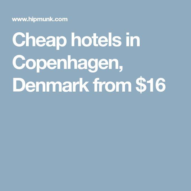 Cheap hotels in Copenhagen, Denmark from $16