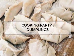 Cooking party 3 : Recette de dumplings simple • Hellocoton.fr