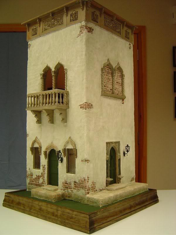 Venice Canal House 1/4 scale