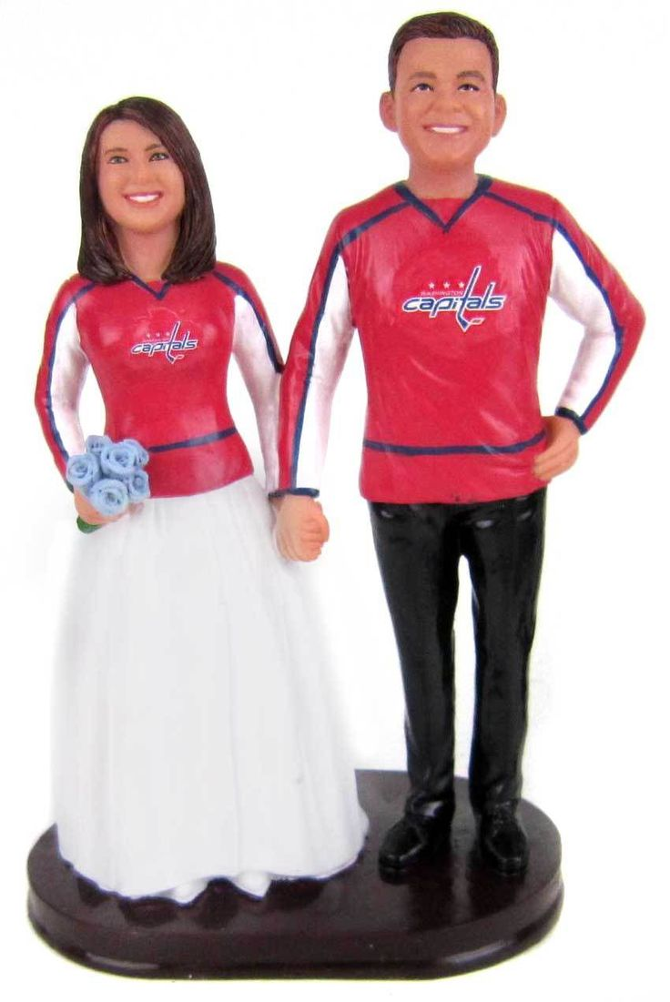 279 Best Hockey Wedding Cake Toppers Images On Pinterest