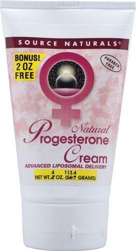 Natural Progesterone Cream The BEST All Natural Progesterone Cream!