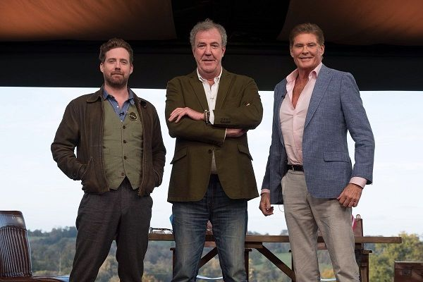 LONDON/SEATTLE (UPI) --Amazon has announced the guest stars slated to appear in Season 2 of its car-themed docu-seriesThe Grand Tour.  Among those booked are Luke Evans,Kiefer Sutherland, Hugh Bonneville,Kevin Pietersen, Dominic Cooper, Dynamo, Rory Mcllroy, Michael Ball, Ricky Wilson and Alfie Boe.   #Alfie Boe #Amazon #David Hasselhoff #Dominic Cooper #Dynamo #Hugh Bonneville #James May #Jeremy Clarkson #Kevin Pietersen #Kiefer Sutherland #Luke Evans #Michael Ba
