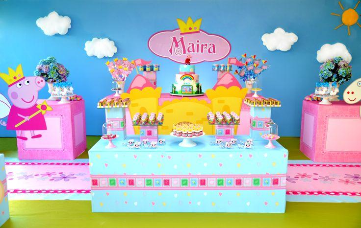 #peppapig #festapeppa #festapeppa #peppapigdecor #peppapigparty #partyideas #ideas #party #birthday #girls #meninas #babygirl