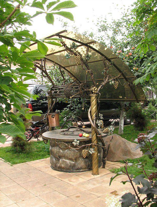 Колодец на даче: как сделать своими руками колодезный домик